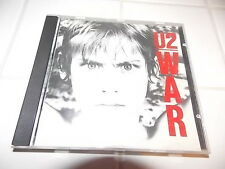 U2 WAR CD RARE USA ORIGINAL PRESSING ISLAND RECORDS 1983 BONO EDGE NEW YEARS HTF