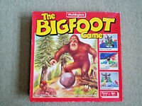 THE BIGFOOT Vintage 1987 Board Game  Waddingtons Complete EXCELLENT CONDITION