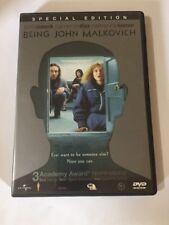 Being John Malkovich (Dvd, 2000) Special Edition. John Cusack Cameron Diaz