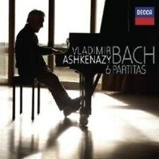 "VLADIMIR ASHKENAZY ""THE 6 PARTITAS"" 2 CD NEW+"