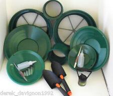 SE Green Mini / Large Gold Classifier Screen & Gold Pan Panning Kit