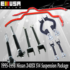 For Nissan 240SX S14 Toe Arm /Tension Rod/Traction Rod/Camber Arm/Swaybar