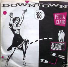 "7"" 60s KULT ! PETULA CLARK : Downtown (RI ´88 ) //VG+\"