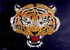 BANKSY Tigres Jefe, Pared, Auto, Camioneta, calcomanía / etiqueta adhesiva.