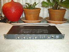 EV ELX-1A, 4 Channel Broadcast Mic Line Mixer Preamp with Limiter, Vintage Rack