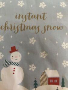 Instant Artificial Snow Powder Magic Snow Christmas Decoration Xmas Party