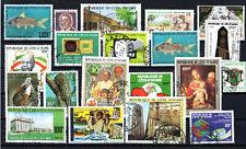Costa d'avorio Anni 70/80 Raccolta usata viaggiata (c)