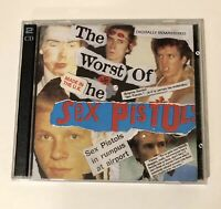 The Worst Of The Sex Pistols 2 CD Set Made In The U.K. Digitally Remastered RARE