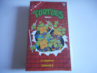 K7  VHS / CASSETTE VIDEO - TORTUES NINJA / LE KIDNAPPING & DIMENSION X