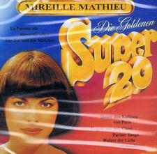 CD Audio Nouveau/OVP-Mireille Mathieu-les d'or super 20