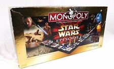 Star Wars Monopoly Game Collector Edition 3D Board 8 Collectible Tokens