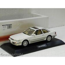 TOYOTA SOARER 3.0 GT LIMITED (MZ20) 1990 CRYSTAL WHITE HOBBY JAPAN 1/18