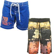Ex-H&M Boys Printed Summer Swim Shorts Elasticated Drawstring Waist Sale!