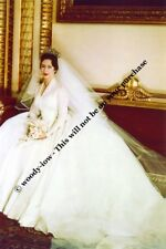 mm725 -Princess Margaret on her wedding day to Earl Snowdon - Royalty photo 6x4""