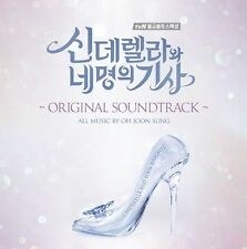 Cinderella and Four Knights O.S.T Sealed 2016 Korean TVN TV Drama OST 2CD