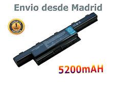 Batería para Acer Gateway Nv51M 31CR19/65-2 934T2078F AS10D31 AS10D51 AKKU 5.2A