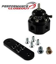 AEM Universal Black Adjustable Fuel Pressure Regulator FPR 25-302BK