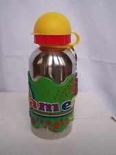 JAMES Funky Named Metal Silicone Drinks Bottle Flask Container Thermos GREEN
