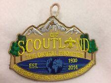 Boy Scouts -  2014 Central Florida Council - Scotland - Cub Family Campout patch