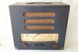 GEC BC 4242 VINTAGE OVERSEAS '5' RECEIVER MW/LW/SW VALVERADIO.1950'S WORKING