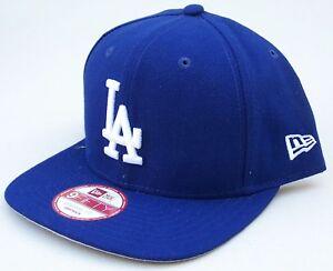 NEW ERA LOS ANGELES DODGERS PRACTICE SNAPBACK CAP 9FIFTY BLUE / WHITE LA HAT