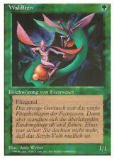 """Magic The Gathering (MtG) Karte """"Waldfeen"""" deutsch neuwertig"""