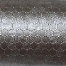 ( 32,88€/m ²) 50cm x 152cm Oracal 975hc Honeycomb 933 Estaño Metálico Película