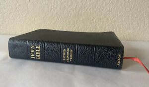 Nelson RSV Revised Standard Version Bible Genuine Leather 3807 Text Edition 1952