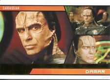 Star Trek Aliens Gold Parallel Base Card # 40 Damar