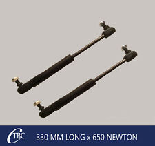 1 Pair 330mm Long x 650n Gas Strut / Spring Caravan Camper Trailer Canopy
