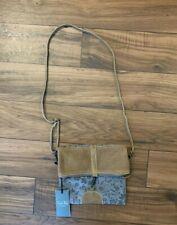 Myra Bag Hairon Crossbody Bag Women Vintage Bag Upcycled Canvas