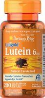Luteina con zeaxantina 6 mgr., 200 capsules, salute degli occhi, cataratta
