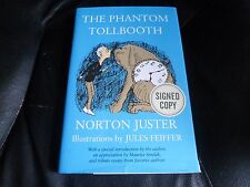 NORTON JUSTER SIGNED - THE PHANTOM TOLLBOOTH - LIMITED HARDCOVER EDITION NEW