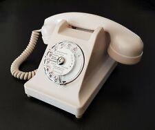 Téléphone vintage ☎️ bakélite Ericsson U43 blanc à cadran converti box internet