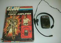 Lot 1983 GI Joe Stalker Nasta Electronic Voice Amplifier Set *Complete in Box*