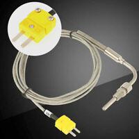 EGT K-Type Thermocouple Exhaust Probe High Temperature Sensor Controllers Thread