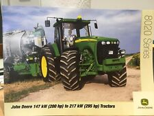 John Deere 8020 Series European Spec 200 to 295 hp Tractor Brochure 2005