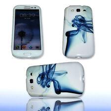 Design No.6 Silikon TPU Cover Case Samsung i9300 Galaxy S3 + Displayschutzfolie