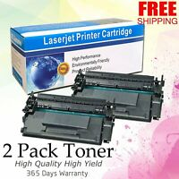 2 Pack CF226X 26X Toner Cartridge for HP LaserJet Pro M402dn M426fdw MFP Printer