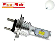 2x White H7 72W CSP LED Car Fog Tail Driving Lamp Bulb Canbus Error Free 12V 24V