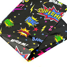Superhero Table Cover Tablecloth Birthday Picnic Party BBQ Child Foil 120X180cm