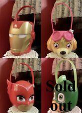 Character Basket Toy Skye Owlette Iron Man * Easter * Gift Bag * Halloween * etc