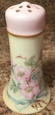 Absolutely Gorgeous Vintage Nippon Hat Pin Holder Floral Pink