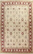 Floral Traditional Oriental Area Rug Wool/ Silk Hand-knotted Large Carpet 10x14