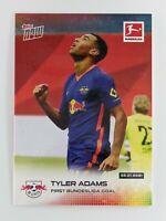 2020-21 Topps Now Bundesliga Tyler Adams Card 110 RB Leipzig Soccer Football