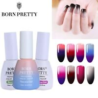 3Bottles/set Born Pretty Color Changing Nail UV Gel Polish+Base/Top Coat Varnish