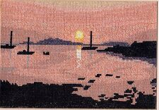 """Tandem Cottage Designs Counted Cross Stitch Kit """"Sunset"""" - Isles of Scilly"""