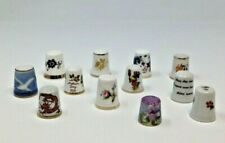 Vintage Sewing Thimbles Lot of 12 Collection