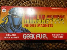 NEW Geek Fuel Exclusive - Ninja Star Fridge Magnets