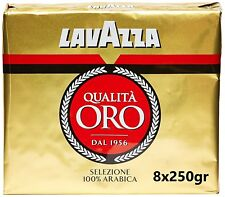 Lavazza - Caffè Macinato Qualità Oro 8x250 gr